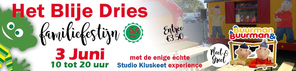 Blije Dries Familiefestijn zondag 3 juni 2018 Wijchen