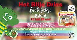Blije Dries familiefestijn jubileum speeltuin Wijchen