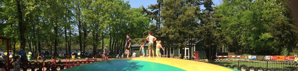 Air trampoline speeltuin de Blije Dries Wijchen