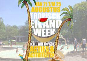 Blije Dries tropische themaweek