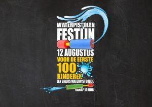 Waterpistolenfestijn Blije Dries